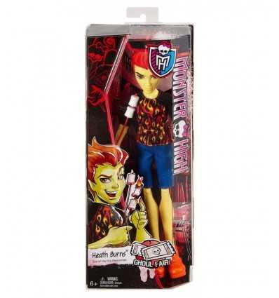 Poupée de foire monstre Heath Burns CHW69/CHW72 Mattel- Futurartshop.com