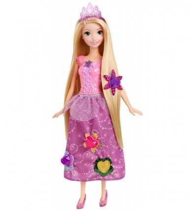 Muñeca de Rapunzel con gemas preciosas CJH26 Mattel- Futurartshop.com