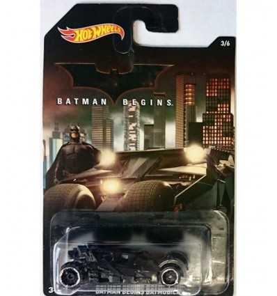 coche Batman comienza batmobile ruedas calientes DFK69/DFK73 Mattel- Futurartshop.com