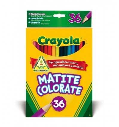 Kolorowe kredki 36 kolorów Crayola- Futurartshop.com