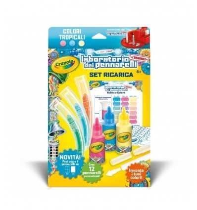 Ładowania zestawy laboratoryjne markerów tropikalnych kolorów 74-7089 Crayola- Futurartshop.com