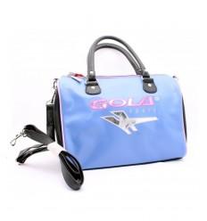 Violet pink pouch bag