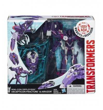 Transformers mini-con decepticon fractura carácter implementadores y airazor B0765EU40 B1977 Hasbro- Futurartshop.com