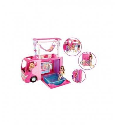 Camper with accessories with Ken and Barbie Fashionistas Y9822 Mattel- Futurartshop.com