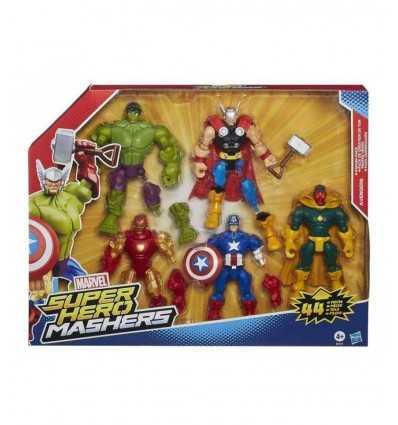 Avengers Super Hero Mashers 5 personaggi B1917EU40 Hasbro-Futurartshop.com