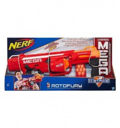 Nerf N-Strike Mega Rotofury B1269EU40 Hasbro- Futurartshop.com