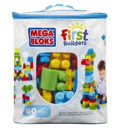 Nowa eko torba maxi 60 kawałek niebieski cegieł 08416 Mega Bloks- Futurartshop.com