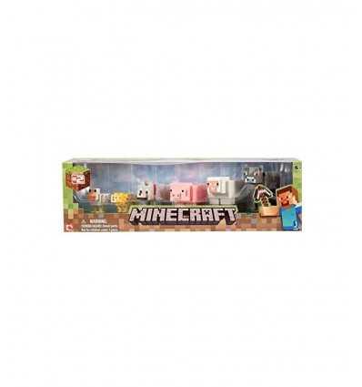 Minecraft blister 6 zwierząt NCR16590 Giochi Preziosi- Futurartshop.com