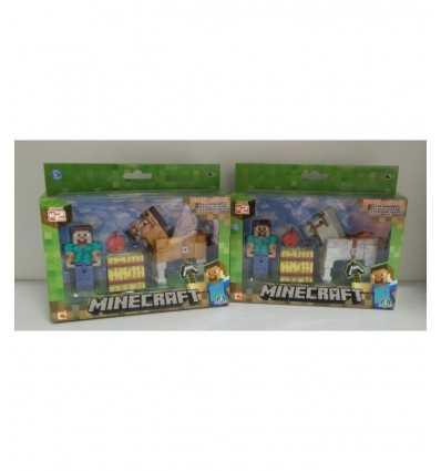 Minecraft Steve con caballo NCR16595 Giochi Preziosi- Futurartshop.com