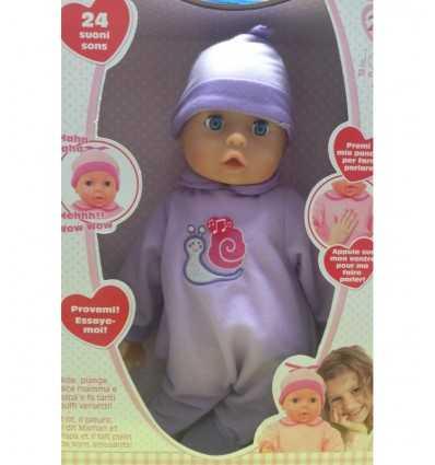 Liebe Puppe Bebe 38 cm Farben 2 Lautsprecher RDF50938 Giochi Preziosi- Futurartshop.com