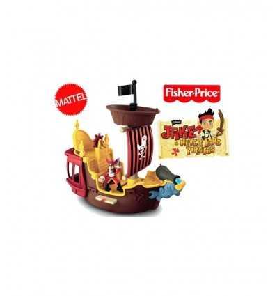 Mattel Jake Il Pirata Fisher Price Y2265 -La Nave dei Pirati Jolly Roger Y2265 Mattel-Futurartshop.com