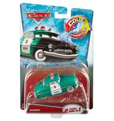 car cars color changers Sheriff CKD15/CKD19 Mattel- Futurartshop.com