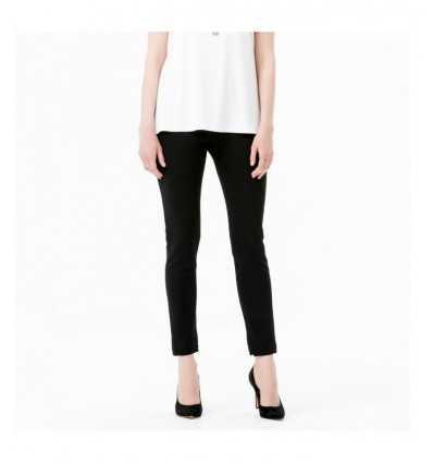 Pantalone stile leggings nero A5C 8216 136 VDP-Futurartshop.com