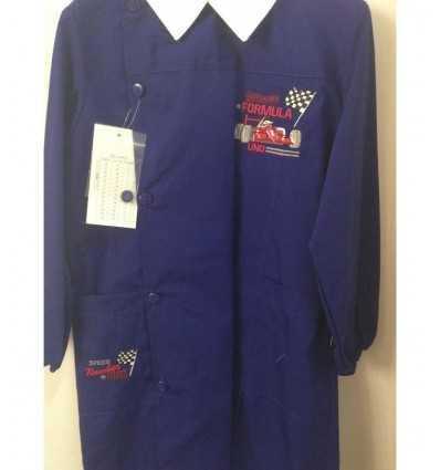 grembiule taglia 65 formula 1 colore blu 6 anni E252 65 -Futurartshop.com