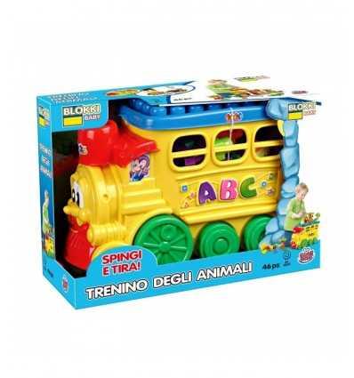Costruzione Treno 48 pz GG81000 Grandi giochi- Futurartshop.com