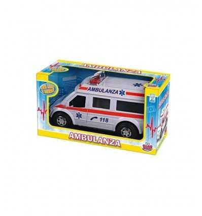 Emergency ambulance 2 models GG50403 Grandi giochi- Futurartshop.com