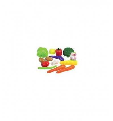 Fruits et légumes Set 9 pièces GG20001 GG20001 Grandi giochi- Futurartshop.com
