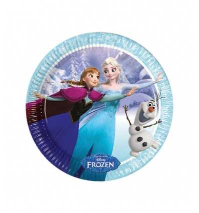 23 cm platos frozen patinaje 5PR85426 New Bama Party- Futurartshop.com