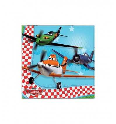 Servietten 20 Flugzeuge CMG81654 Como Giochi - Futurartshop.com