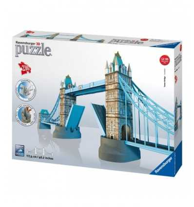 Ravensburger 12559 Tower Bridge 3D Puzzle Building 12559 Ravensburger- Futurartshop.com