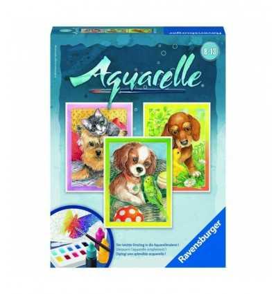Ravensburger 29318 6 Aquarelle Midi Amici Animali 29318 Ravensburger- Futurartshop.com