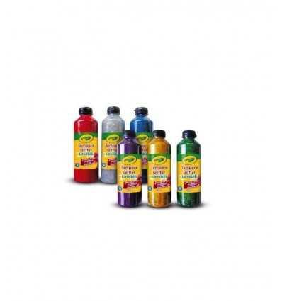 Crayola temperą świecidełka 25 ml 2 x 3 w różnych kolorach 3929 Crayola- Futurartshop.com