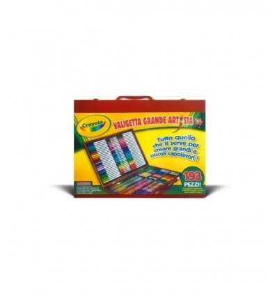 Crayola valigetta grande artista 7450 07450 Crayola-Futurartshop.com