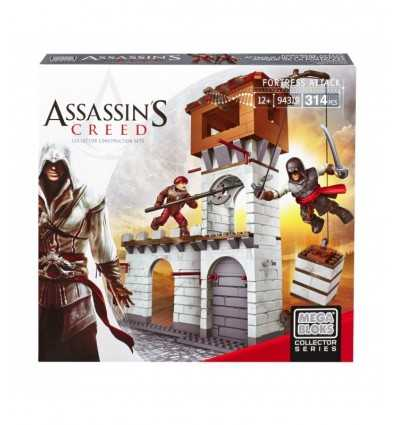 Assassin's creed laid siege to the fortress, mega bloks DBJ04 Mattel- Futurartshop.com