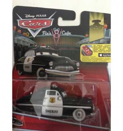 personaggio cars sceriffo W1938/CMX54 Mattel-Futurartshop.com