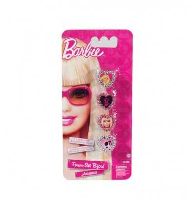 Anelli Barbie set 4 pz GG00417 Grandi giochi- Futurartshop.com