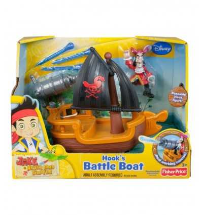 Bateau de pirate du crochet Jake W5264 Mattel- Futurartshop.com