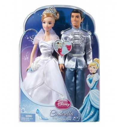 Cinderella and Prince charming X2846 Mattel- Futurartshop.com