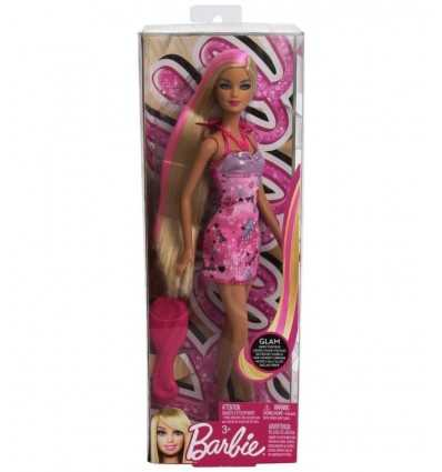 Barbie hairtastic pink dress V9516-X7883 Mattel- Futurartshop.com