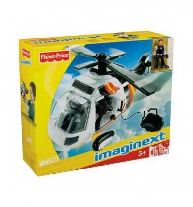 Imaginext Elicottero ambulanza W8522 Mattel-Futurartshop.com