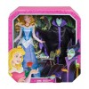 Bambola barbie top nero con gonna rosa CLL33/CLL34 Mattel-futurartshop