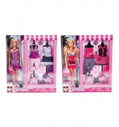 Barbie 2 abiti esclusivi e acc N8820 Grandi giochi- Futurartshop.com