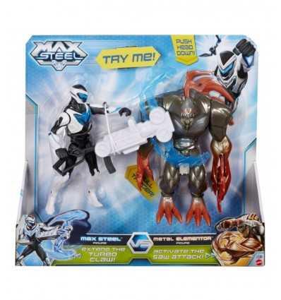 Max Steel contra Elementor Metal BHJ04 Mattel- Futurartshop.com