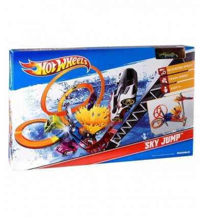 Pista de salto de cielo de ruedas caliente T7509 Mattel- Futurartshop.com