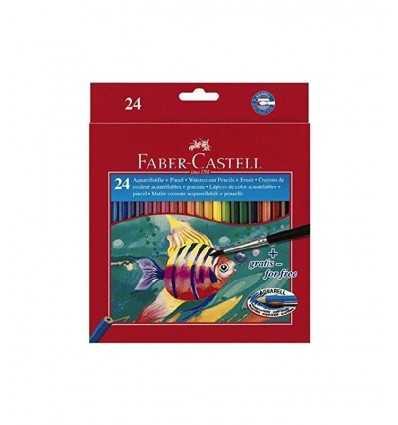 faber pastelli acquerellabili 24 pezzi 135445 Arvi-Futurartshop.com