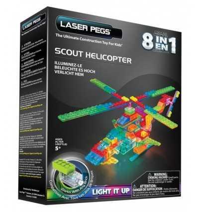 8 in 1 scout helicopter with lighting HDGPB2150B Giochi Preziosi- Futurartshop.com