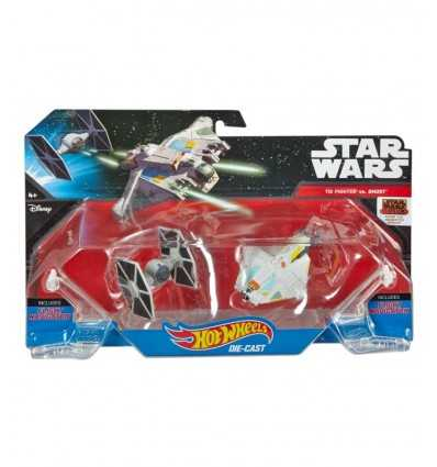 Chaud le vaisseau de roues Star wars The Fighter vs Ghost CGW90/DLP58 Mattel- Futurartshop.com