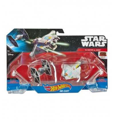 Hot Wheels Star wars rymdfarkoster The Fighter vs Ghost CGW90/DLP58 Mattel- Futurartshop.com