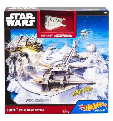Hot Wheels Playset de star wars Echo espace Base CGN33/CGN34 Mattel- Futurartshop.com