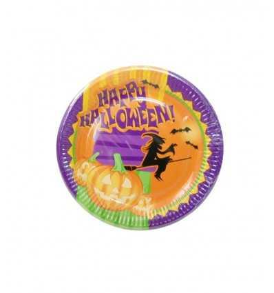 Happy halloween dish 23 cm D01HL Magic World Party- Futurartshop.com