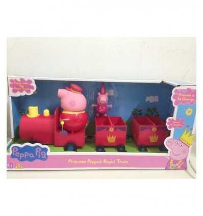 Peppa pig Princess with Royal train CCP05870 Giochi Preziosi- Futurartshop.com