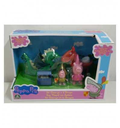 peppa pig principessa george e il drago e il tesoro CCP05869 Giochi Preziosi-Futurartshop.com