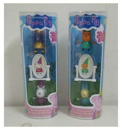 Peppa pig Princess 4 characters models tube CCP05866 Giochi Preziosi- Futurartshop.com