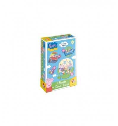 Peppa Peg puzzle rond 41817 41817 Giochi Preziosi- Futurartshop.com