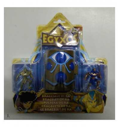Egyxos personaggio con bracciale di Ra 8 modelli GPZ18691 Giochi Preziosi-Futurartshop.com