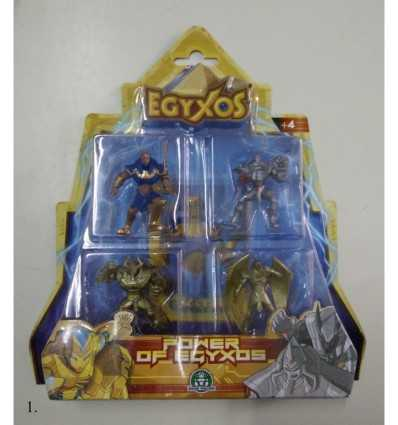 Egyxos blister con 4 personaggi 6 modelli GPZ18689 Giochi Preziosi-Futurartshop.com